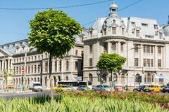 University Square (Piata Universitatii) - stock photo