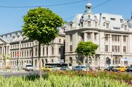 Stock Photo of University Square (Piata Universitatii)