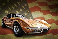 American muscle auto Kuvituskuvat