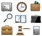 Stock Illustration of business icons