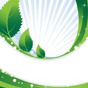 Stock Illustration of green foliage