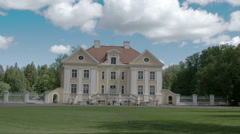 An old manor in palmse estonia fs700 odyssey 7q Stock Footage