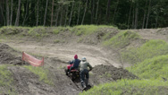 Stock Video Footage of an atv car going uphill fs700 odyssey 7q