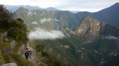Machu Picchu - Peruvian Historical Sanctuary Stock Footage
