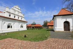 """National historic and architectural complex """"residence bohdan khmelnytsky"""" Stock Photos"""