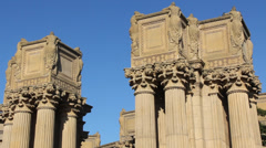 San Francisco Palace of Fine Arts Stock Footage