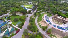 Aerial Zoo Miami 4 Stock Footage