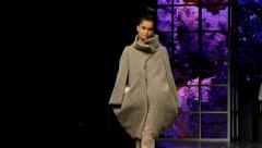 Beautiful models  Fashion show-Sequence Stock Footage