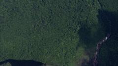 Trees Boulders Canyon Ridge Stock Footage