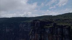 Photographer Boulders Canyon Ridge Stock Footage
