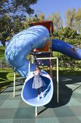 toy playground - stock photo