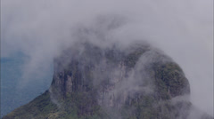 Cloudy Cliffs Stock Footage