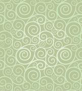 Elegant swirl seamless composition Stock Illustration