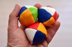Juggling balls Stock Photos