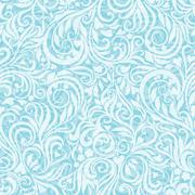 Seamless frosty pattern - stock illustration
