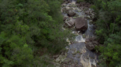 Rainforest River - stock footage