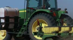 Planting cotton 6 Stock Footage