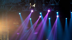 Concert Light - stock footage