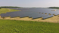 Clean Solar Energy Stock Footage