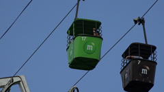 Cable Cars, Mass Transit, Public Transportation - stock footage