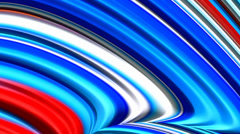 4th of July Red White & Blue Looping Fractal Background (ripples) - stock footage
