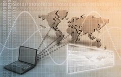 Worldwide computer connectivity Piirros