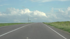 Road highway traffic background Stock Footage