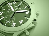 Stock Illustration of green sport watch concept rendered