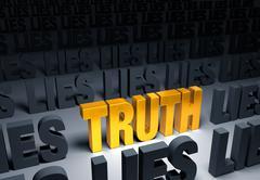 Stock Illustration of truth!