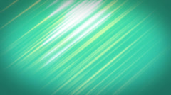 Abstract digital animation background of turquoise blurred lines. Stock Footage