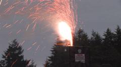 1440 Safe and Sane Fireworks 13 Stock Footage