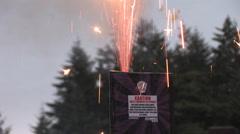 1440 Safe and Sane Fireworks 12 Stock Footage
