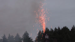 1440 Safe and Sane Fireworks 14 Stock Footage