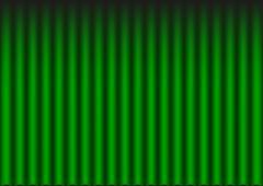 Green velvet curtain Stock Illustration