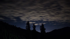 Night Sky Stars Timelapse Stock Footage
