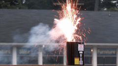 1080p Safe and Sane Fireworks 5 Stock Footage