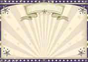 Stock Illustration of horizontal vintage banner