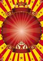 Stock Illustration of circus red and yellow