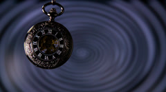 Hypnosis Pocket Watch Slow Motion - stock footage