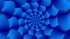 Flower World Blue - LoopNeo VJ Loops HD 1920X1080 Stock Footage