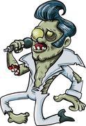 Sarjakuva laulu zombie elvis Piirros