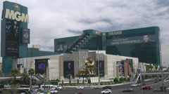 MGM Grand Las Vegas Stock Footage