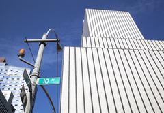 10 avenue - stock photo