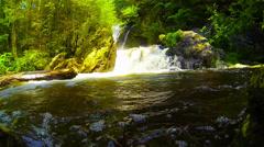 Bash Bish Falls: Waterfall Stock Footage