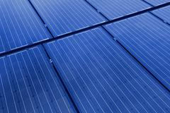 Solar panels background Stock Photos