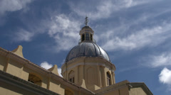 Tilt from the Basílica de Nuestra Señora de La Merced in Cordoba Stock Footage