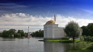 "Stock Video Footage of Pavilion ""Turkish bath"". Catherine Park. Pushkin (Tsarskoye Selo). Petersburg"
