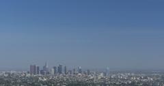 4K Los Angeles 13 LA Downtown Stock Footage