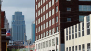 Stock Video Footage of Buildings in the heart of downtown Kansas City, MO