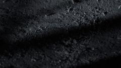 Spooky dark shadows moving over a textured background Stock Footage